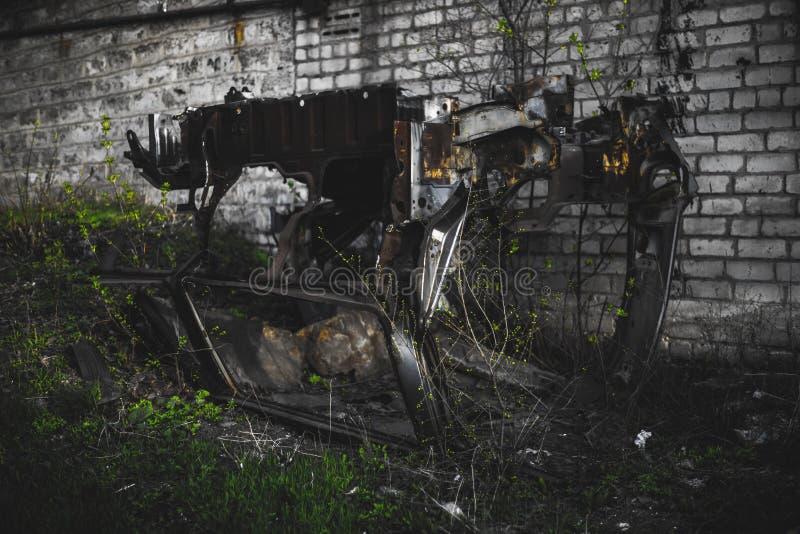腐烂的打破的机器 图库摄影