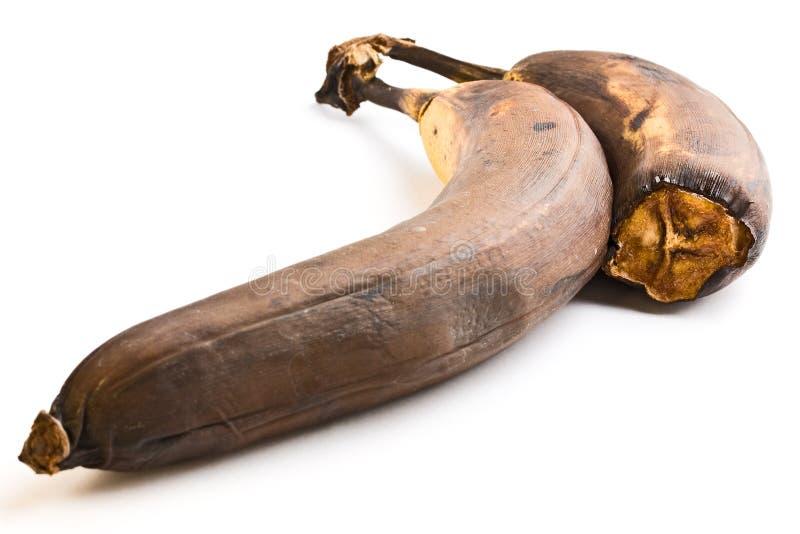 腐烂的香蕉 库存照片