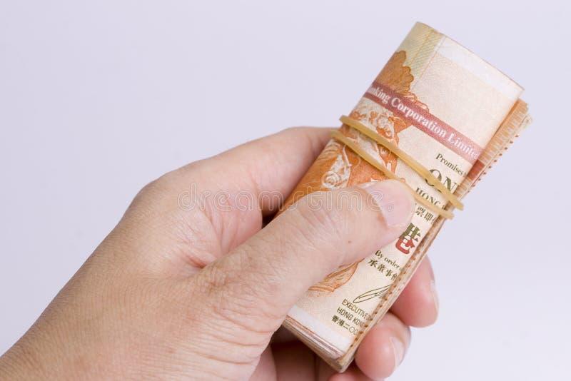 腐败-提供贿款 免版税库存照片