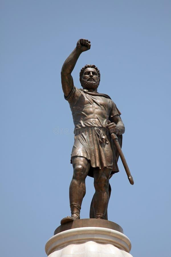 腓力二世Macedon 图库摄影