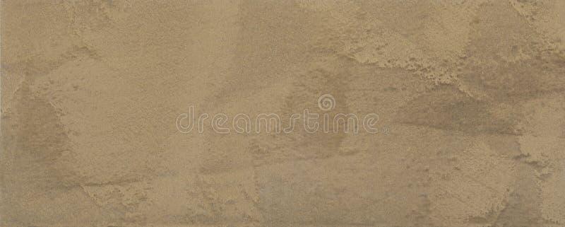 膏药,墙壁的装饰涂层布朗纹理在宏观摄影 库存例证