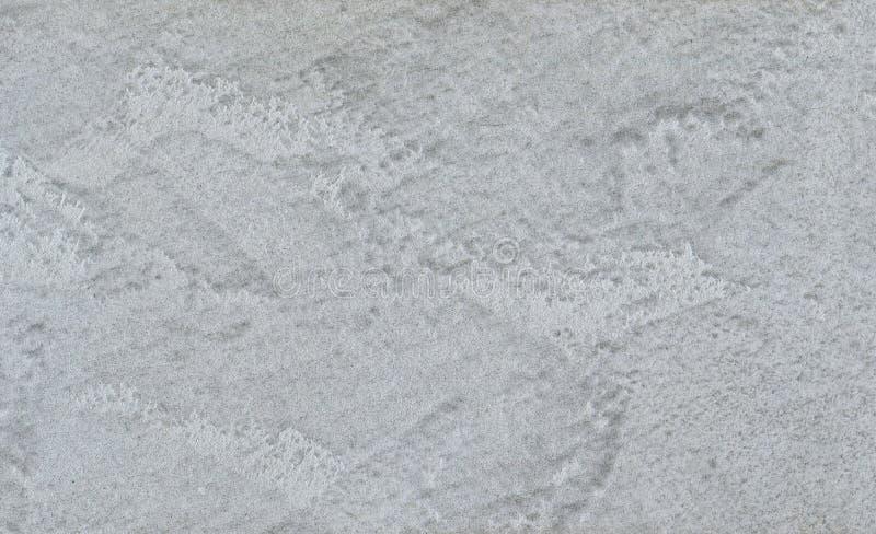膏药,墙壁的装饰涂层灰色纹理在宏观摄影 皇族释放例证