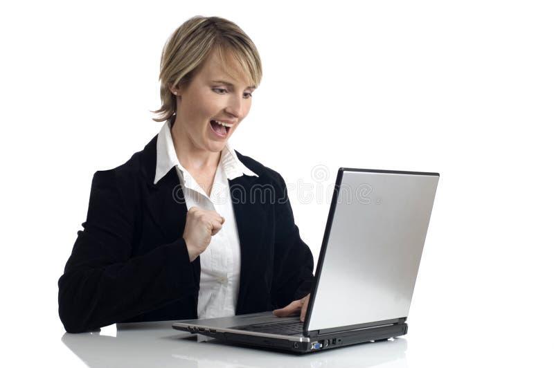 膝上型计算机 库存照片