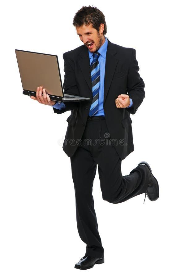 膝上型计算机 库存图片