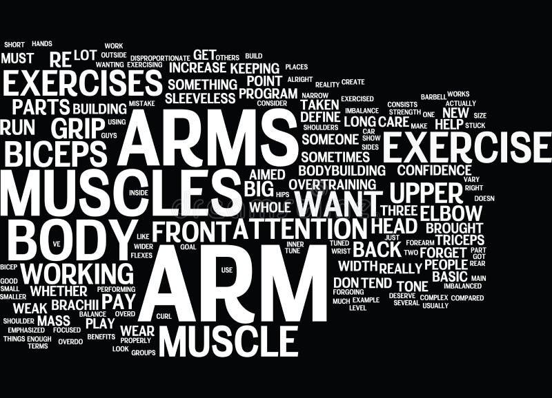 臂跑词云彩概念 向量例证