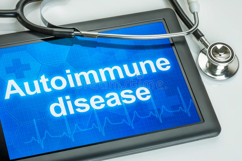 自体免疫病 免版税库存照片