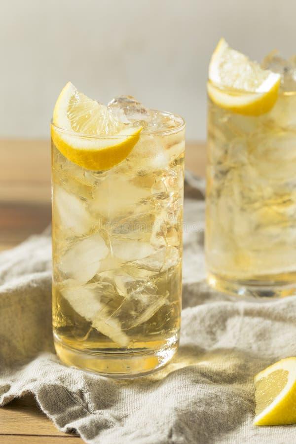 自创七和七威士忌酒HIghball 库存图片