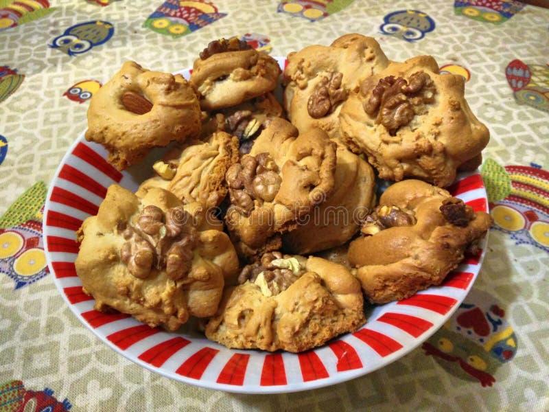 自创甜饼干 免版税库存图片