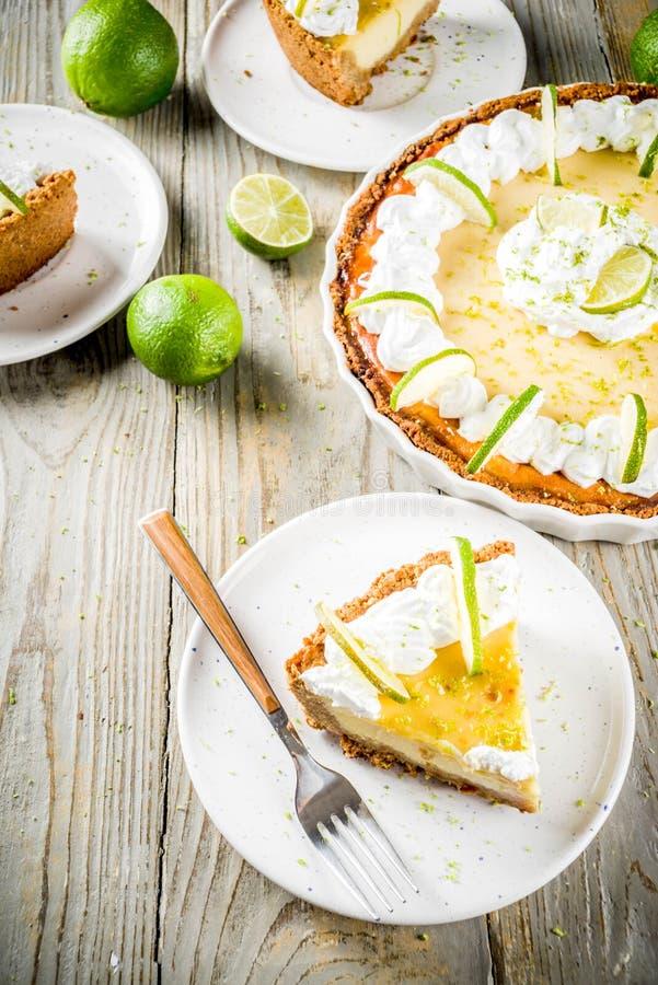 自创礁莱檬饼 库存图片