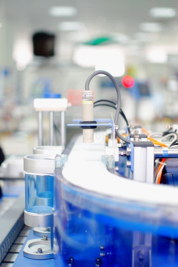 自动化工厂纤维感觉 库存照片