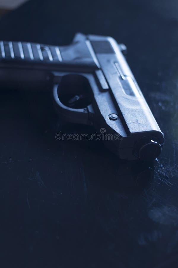 自动手枪手枪 免版税库存照片