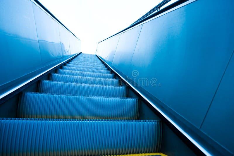 自动扶梯 免版税图库摄影