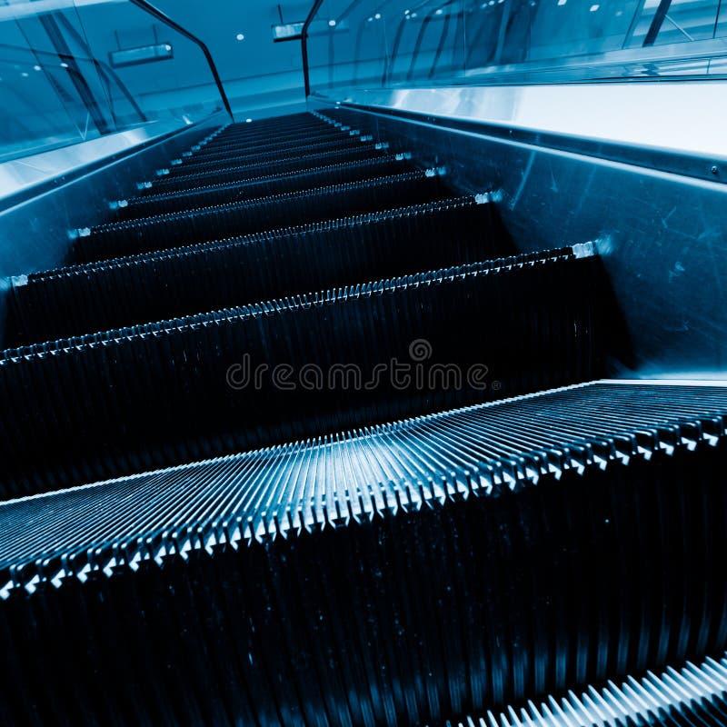 自动扶梯 图库摄影