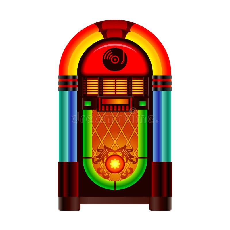自动电唱机 皇族释放例证