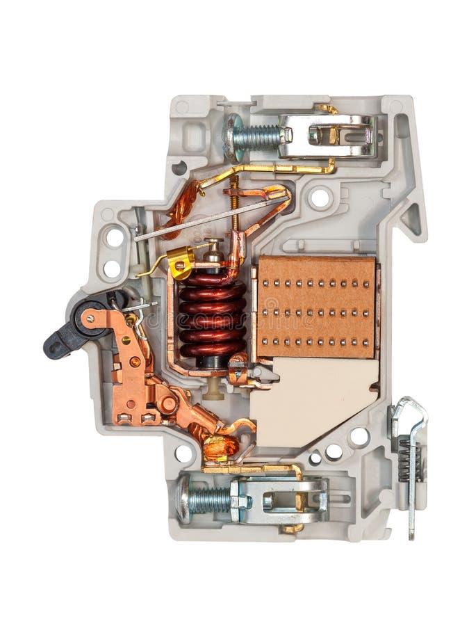 自动破碎机电路 库存图片