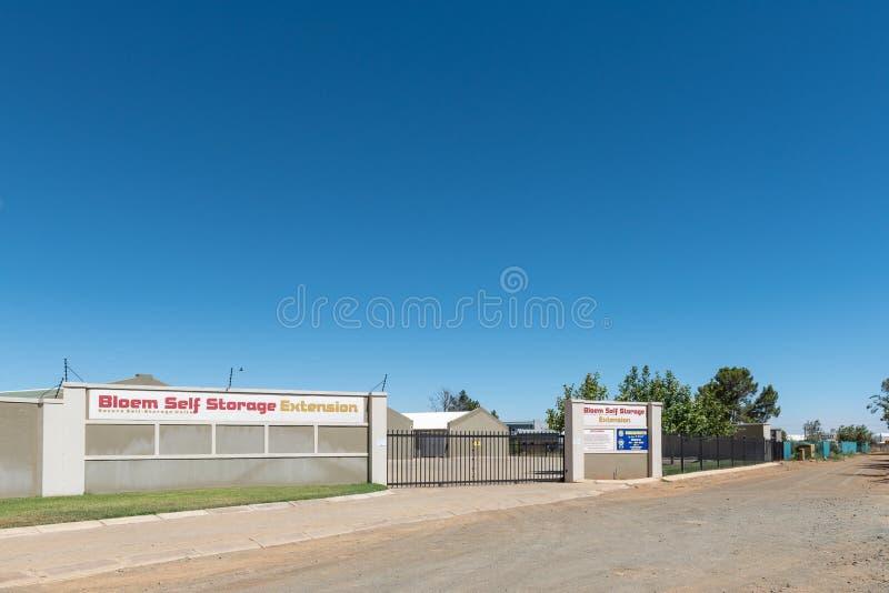 自存设施在Kwaggafontein在布隆方丹 免版税库存照片