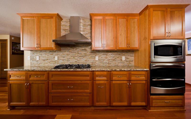 自定义厨房 免版税图库摄影