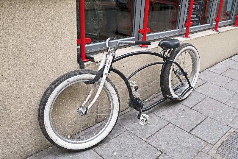 自定义自行车 图库摄影