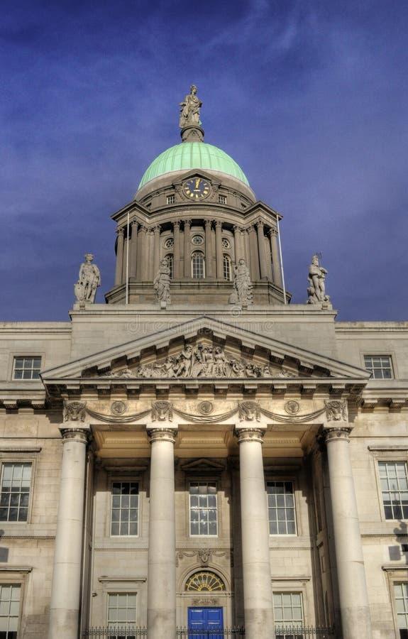 自定义都伯林房子爱尔兰irland 库存照片