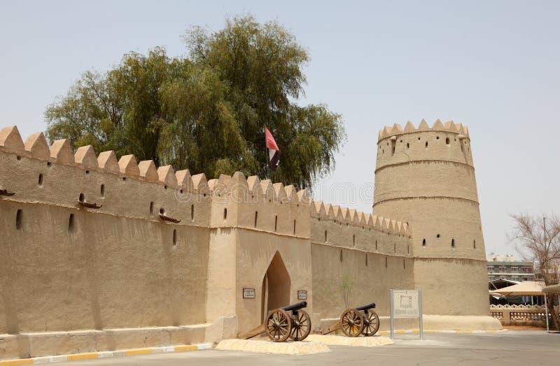 自己的Al框堡垒苏丹zayed 免版税库存照片