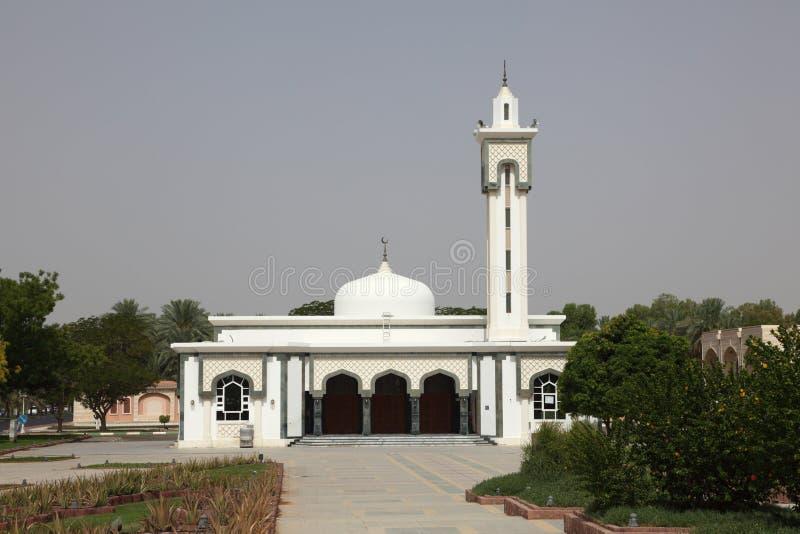 自己的Al清真寺白色 库存图片