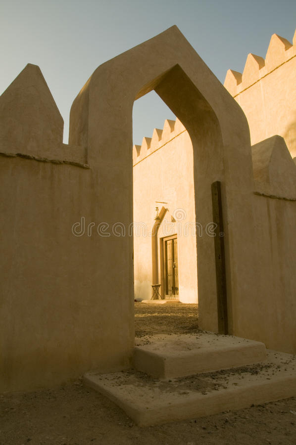 自己的Al muwaiji宫殿 免版税库存图片