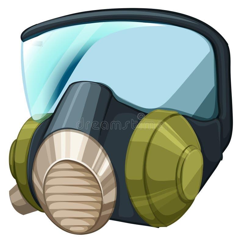 自持呼吸器 向量例证
