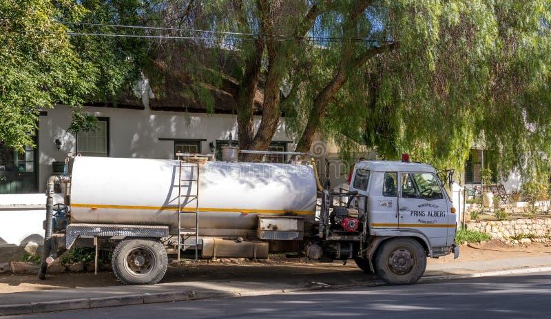 自治都市为小镇居住的南非服务 免版税库存照片