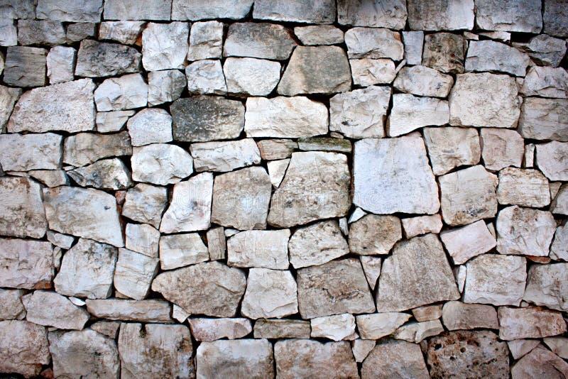 自然不对称的石头背景  免版税库存图片