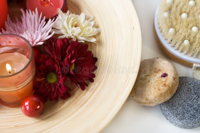 自然产品温泉 免版税库存照片