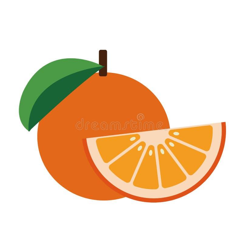 自然健康有机葡萄柚 库存例证