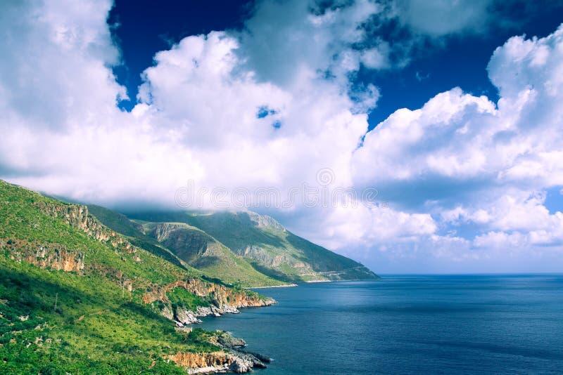 自然储备西西里岛吉普赛人 免版税图库摄影