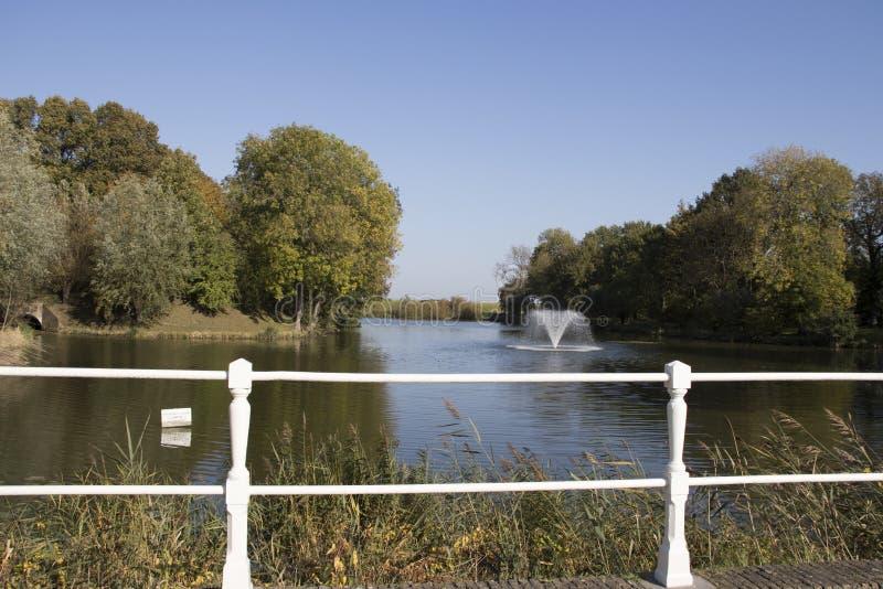 自然包括喷泉 库存图片