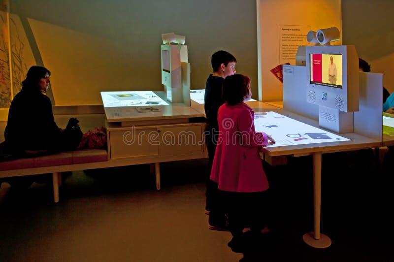 自然历史博物馆在伦敦 库存照片