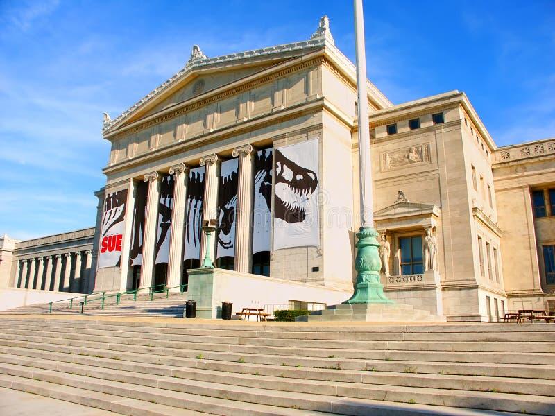 自然历史域博物馆  免版税库存图片