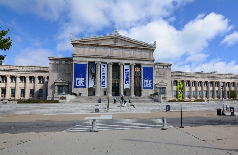 自然历史领域博物馆的芝加哥2018年 库存图片