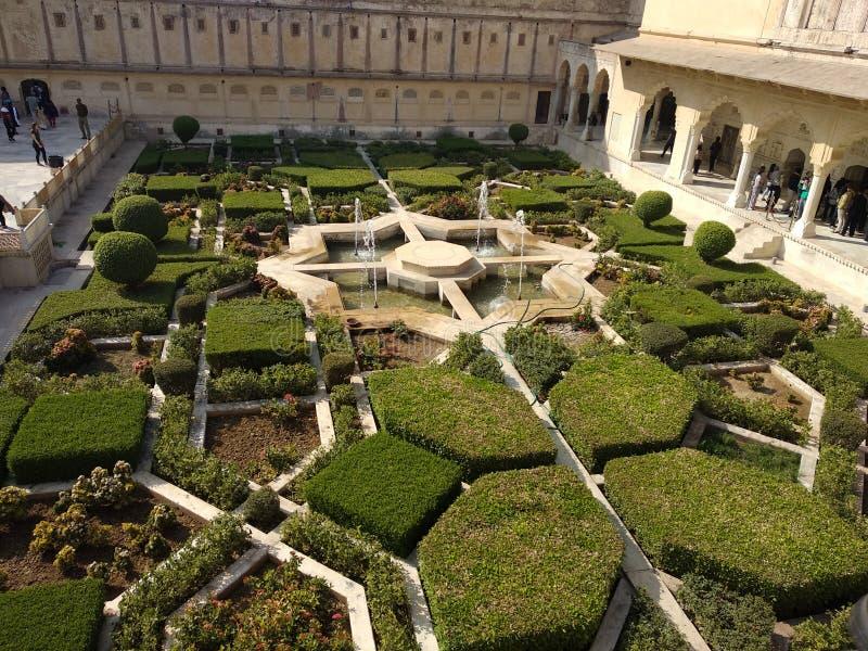 自然和宫殿图象 库存图片