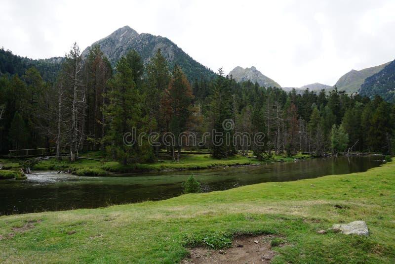 自然山 免版税图库摄影