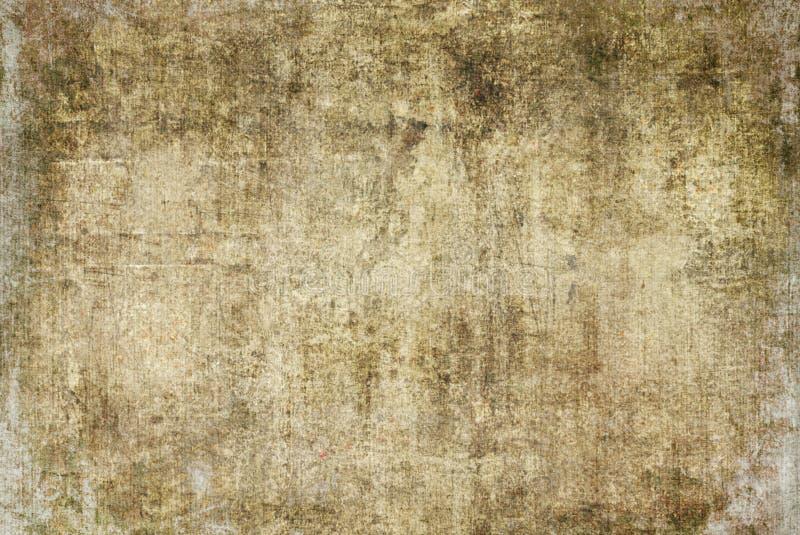 自然布朗破裂的难看的东西黑暗的生锈的被变形的朽烂老抽象帆布绘画纹理样式秋天背景墙纸 库存图片