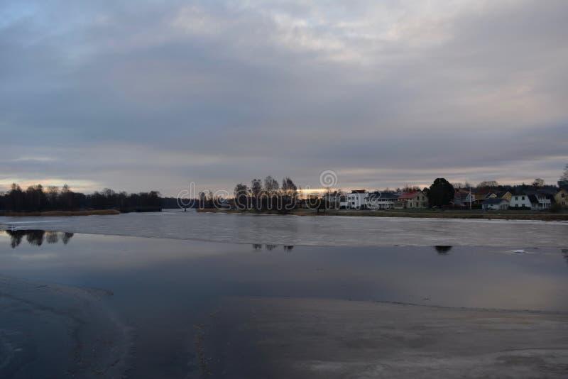 自然摄影在瑞典 库存图片