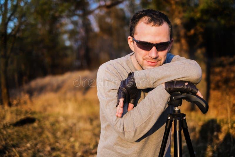 自然摄影师 库存照片