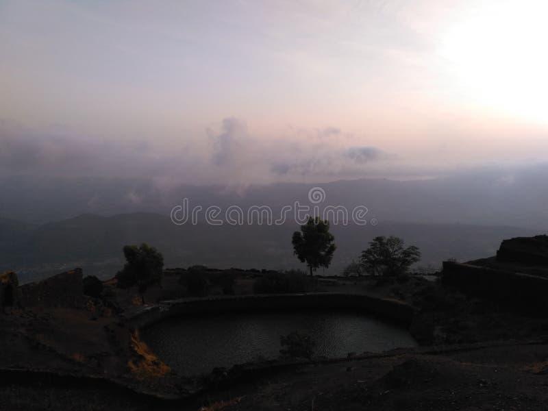 自然摄影,浦那,马哈拉施特拉印度 免版税库存图片