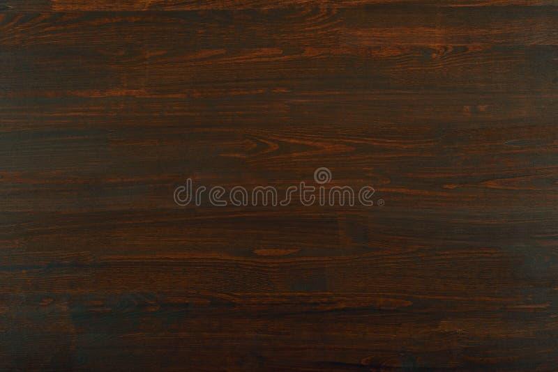 自然木头照片背景或纹理的,黑褐色颜色 免版税图库摄影