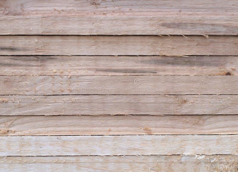 自然木板条水平的概略的纹理背景 免版税库存图片