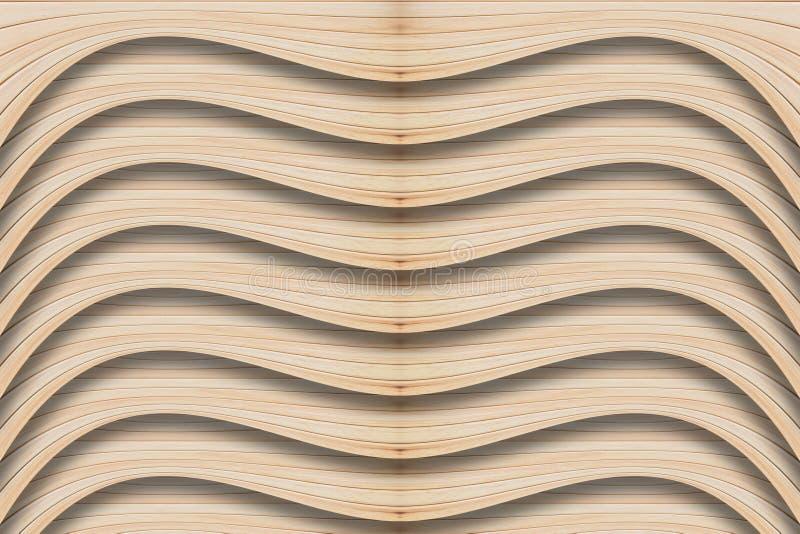 自然木板纹理 免版税库存照片