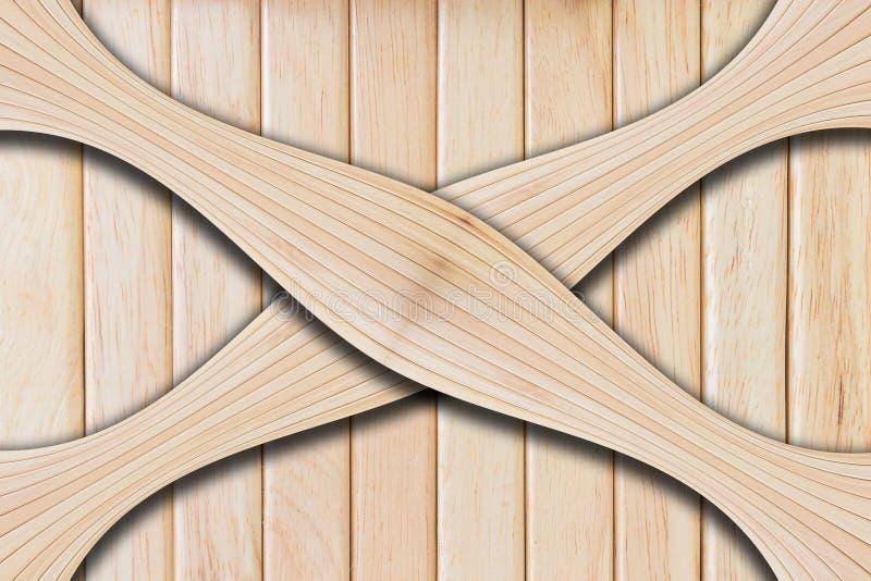 自然木板纹理 免版税库存图片