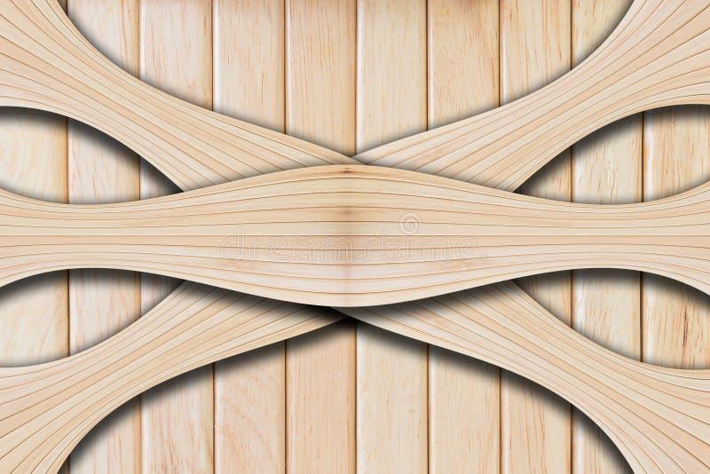 自然木板纹理 库存照片