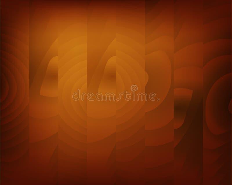 自然木样式 老木纹理背景表面 皇族释放例证