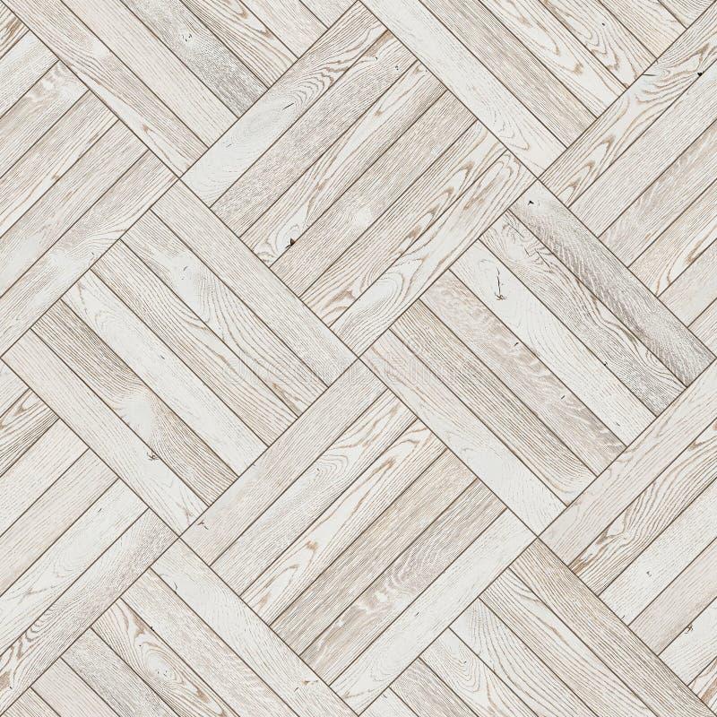 自然木背景,难看的东西木条地板地板设计无缝的纹理 免版税库存图片