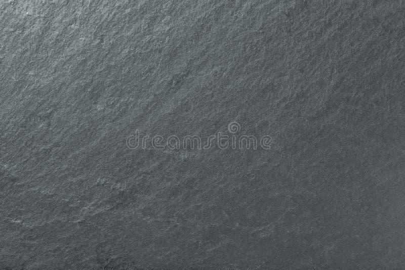 自然板岩深灰背景  纹理黑石特写镜头 库存照片